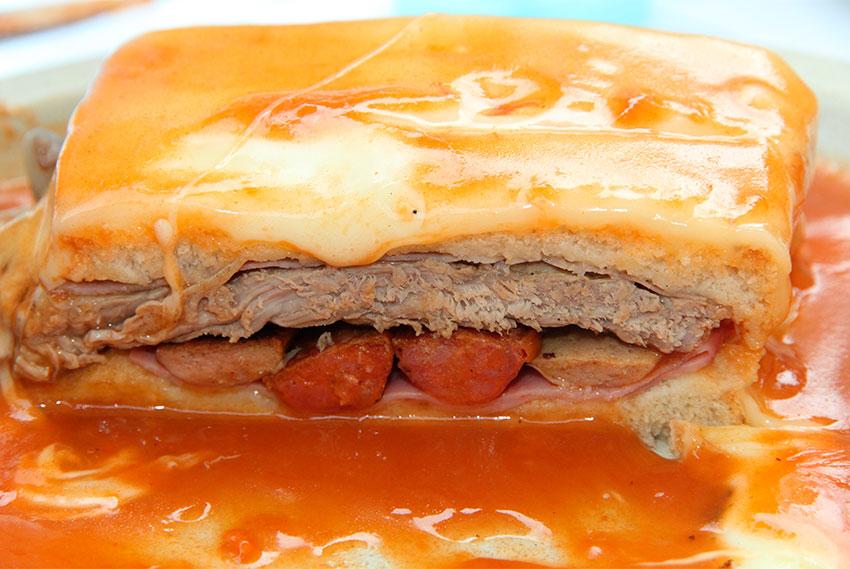 Seelennahrung Francesinha Sandwich