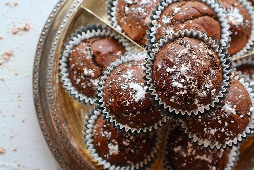 Carob & Banane Muffins