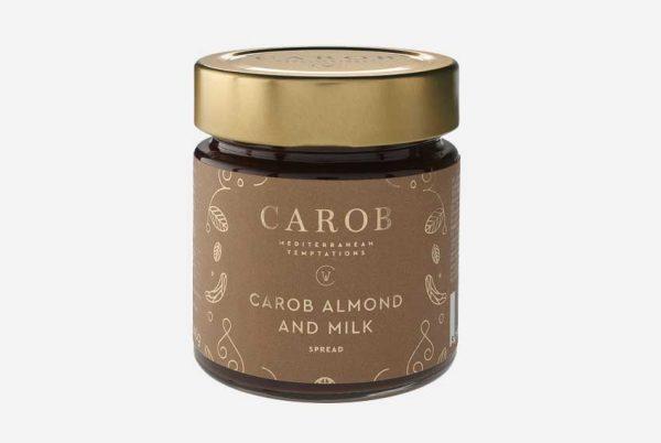 Carob Mandel Milch Creme