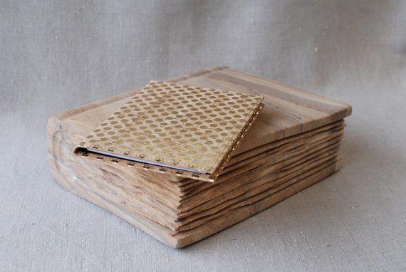 Schreibblock A 6 mit Einsteckfach