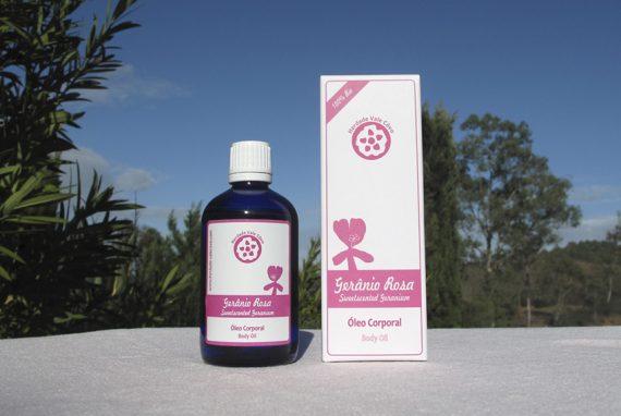 Parfümiertes Massageöl – Geranium