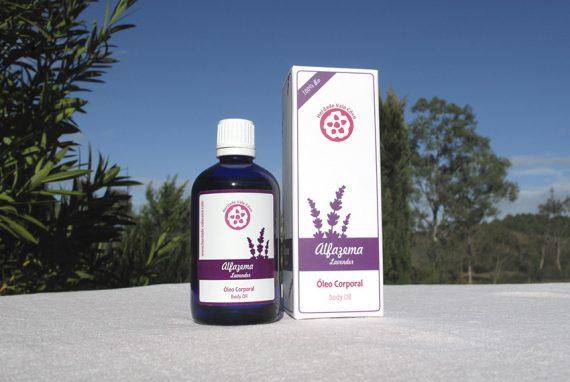 Parfümiertes Massageöl – Lavendel