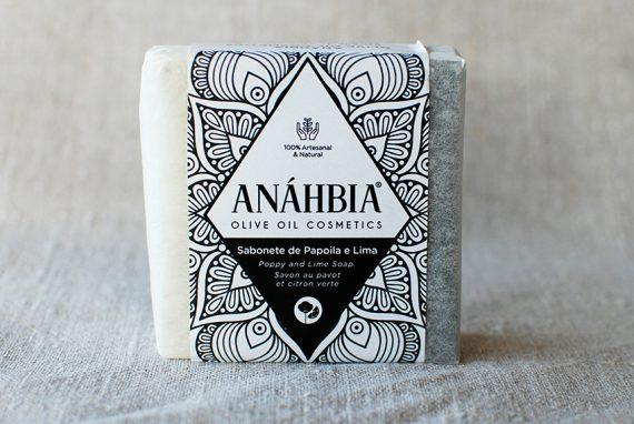 Seife de Papoila e Lima – Mohn und Limette